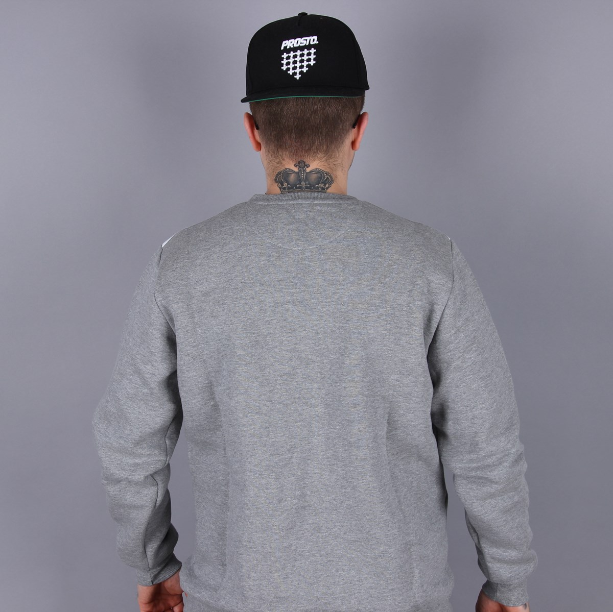 Bluza Prosto Crewneck Novel Tonal Gray