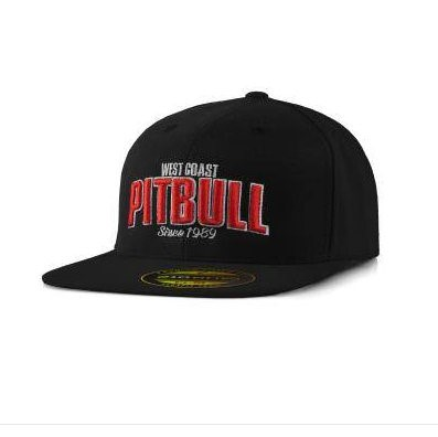 Full Cap Pit Bull Flat Since 1989 Black L/XL