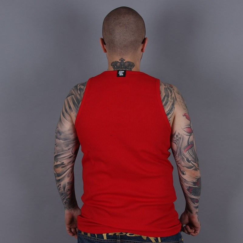 Tank Top Stoprocent Ribb Red