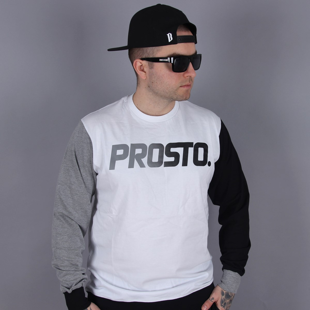 Longsleeve Prosto Transition Black