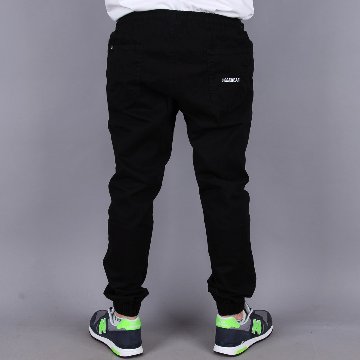 Joggery Jigga Wear Pants Black